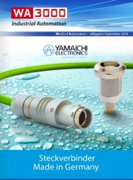 WA3000 Industrial Automation September 2019 - deutschsprachige Ausgabe