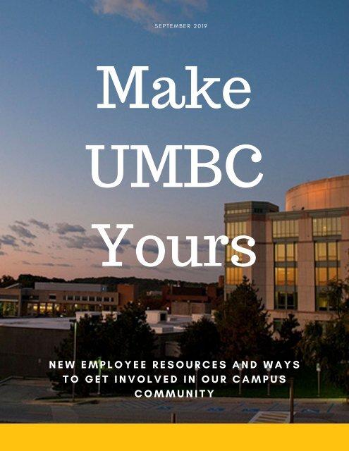 Make UMBC Yours 2019