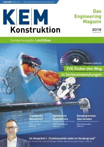 KEM Konstruktion Leichtbau 2019