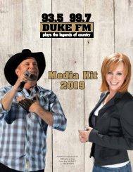 Duke FM Media Kit