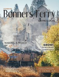 October 2019 Bonners Ferry Living Local