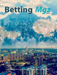 Betting Mgz - ICE Africa 2019 Edition