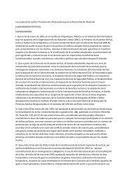 Ley Especial de Justicia Transicional y Restaurativa para la Reconciliación Nacional