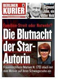 Berliner Kurier 25.09.2019