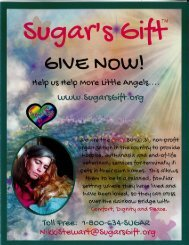 Sugar's Gift™️ Brochure