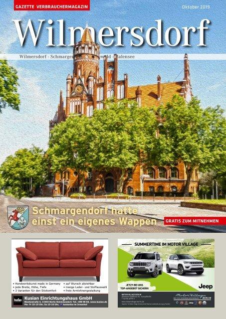 Gazette Wilmersdorf Oktober 2019
