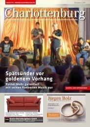 Gazette Charlottenburg Oktober 2019
