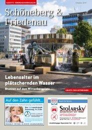 Gazette Schöneberg & Friedenau Oktober 2019