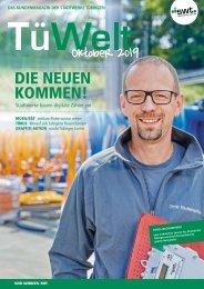 TüWelt | Ausgabe Oktober 2019 | Kundenmagazin der Stadtwerke Tübingen
