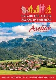 Urlaub für Alle in Aschau i.Chiemgau