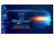 Lepton Software is Set to Present Its Telecom Product Suite at The 3rd FTTH India Summit at Hotel Leela, Mumbai