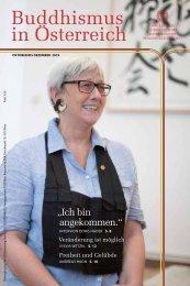 Buddhismus in Österreich - Ausgabe Oktober bis Dezember 2019