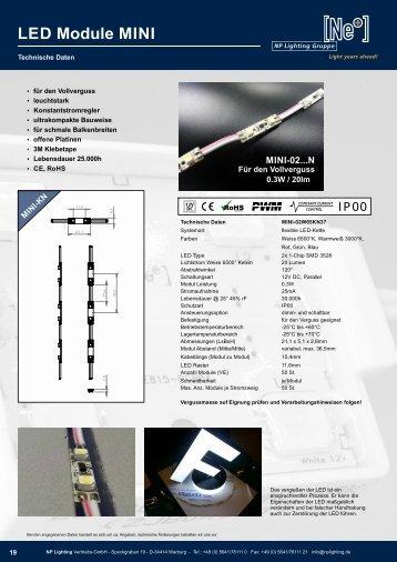 LED Module MINI 02 - NP LIGHTING