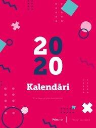 Printmix kalendāru katalogs 2020