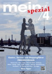 mein/4 Shoppingguide Friedrichshain 2020/