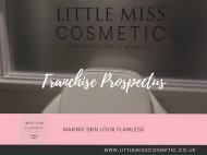 Little Miss Cosmetic - Franchise Prospectus