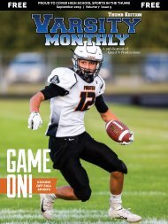 September 2019 Issue of Varsity Monthly Thumb Magazine