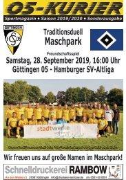 Saison 19/20 - Traditionsspiel: 05 - HSV