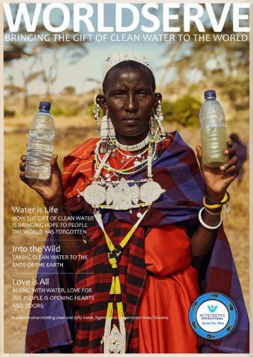 WorldServe Sample Magazine