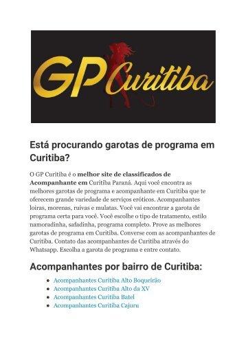 Garotas de programa em Curitiba e Acompanhantes CTBA – GP Curitiba