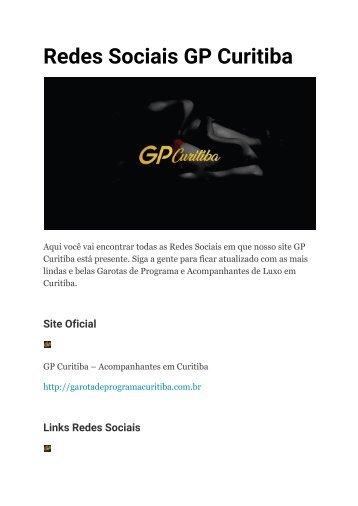 Redes Sociais GP Curitiba