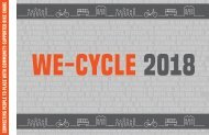 WE-cycle 2018 Annual Report