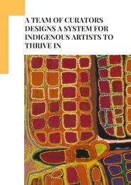 A Team of Curators Designs a System for Indigenous Artists to Thrive In