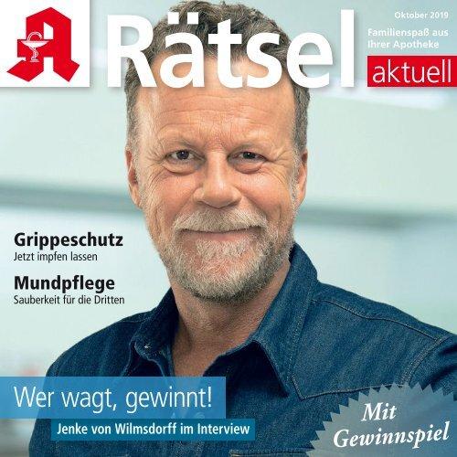 """Leseprobe """"Rätsel-aktuell"""" Oktober 2019"""