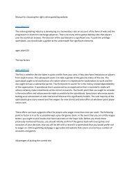 Manual for choosing the right online gambling website