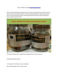 HALAL, WA 0852 1533 9500 Jual Bawang Hitam Bekasi