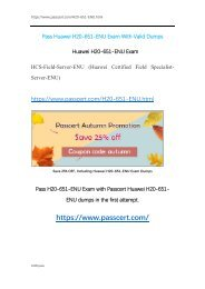 HCS-Field-Server H20-651-ENU Dumps