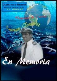REVISTA NUMERO 12 CANDÁS EN LA MEMORIA
