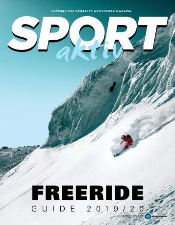 SPORTaktiv Freerideguide 2019