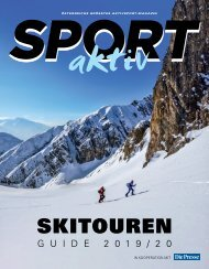 SPORTaktiv Skitourenguide 2019