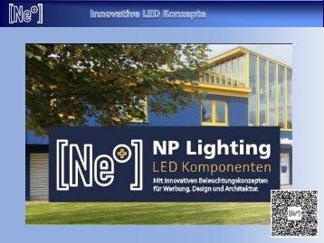 NP LIGHTING - VisCom Werbetechnik LED Technik Q3_2019