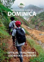 Dominica Log Book & Hike Passport