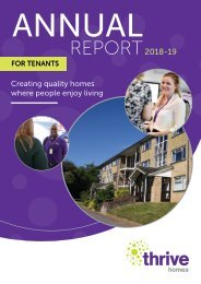 Thrive Annual Customer Report 2018-19