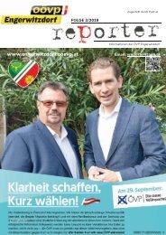 OÖVP Engerwitzdorf Reporter - Folge 2/2019