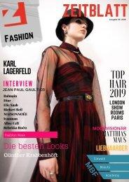 ZeitBlatt Fashion Magazin 2019