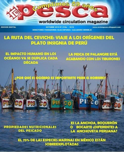 REVISTA PESCA OCTUBRE 2019