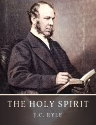 The Holy Spirit by J.C. Ryle