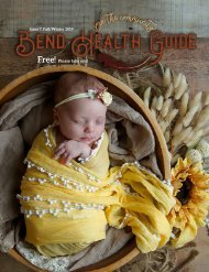 Bend Health Guide Issue 7 Fall/Winter 2019