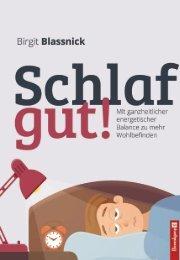 Birgit BLASSNICK, Schlaf gut –Leseprobe