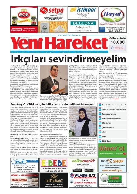 Yeni Hareket Gazetesi Eylül 2019 (Neue Bewegungszeitung September 2019)