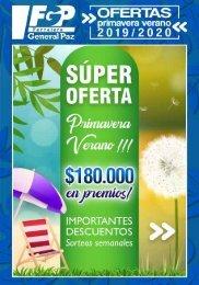 REVISTA OFERTAS PRIMAVERA VERANO 2019 2020 - liviano