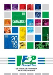 CATÁLOGO GENERAL 2019