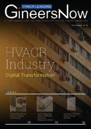 HVAC Digital Transformation, HVACR Leaders magazine, Oct2019