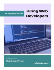 Complete Guide to Hiring Web Developers (From Start to Finish)