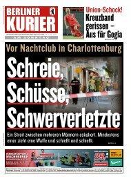 Berliner Kurier 29.09.2019