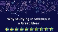 Know About Why Studying in Sweden is a Great Idea